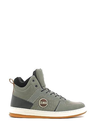 Colmar RENTON DRILL Sneakers Uomo Ecopelle Mid Grey Mid Grey