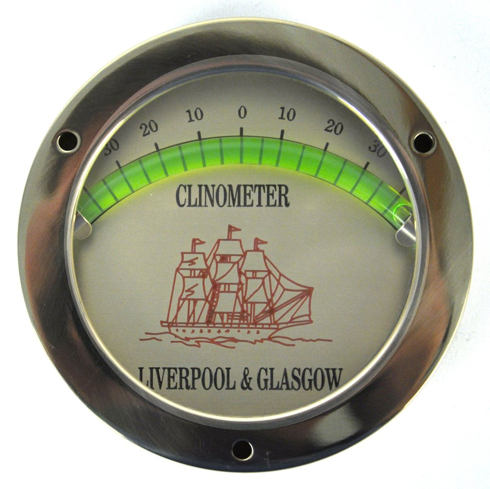 Nauticalia Classic Clinometer – For A Level Vessel