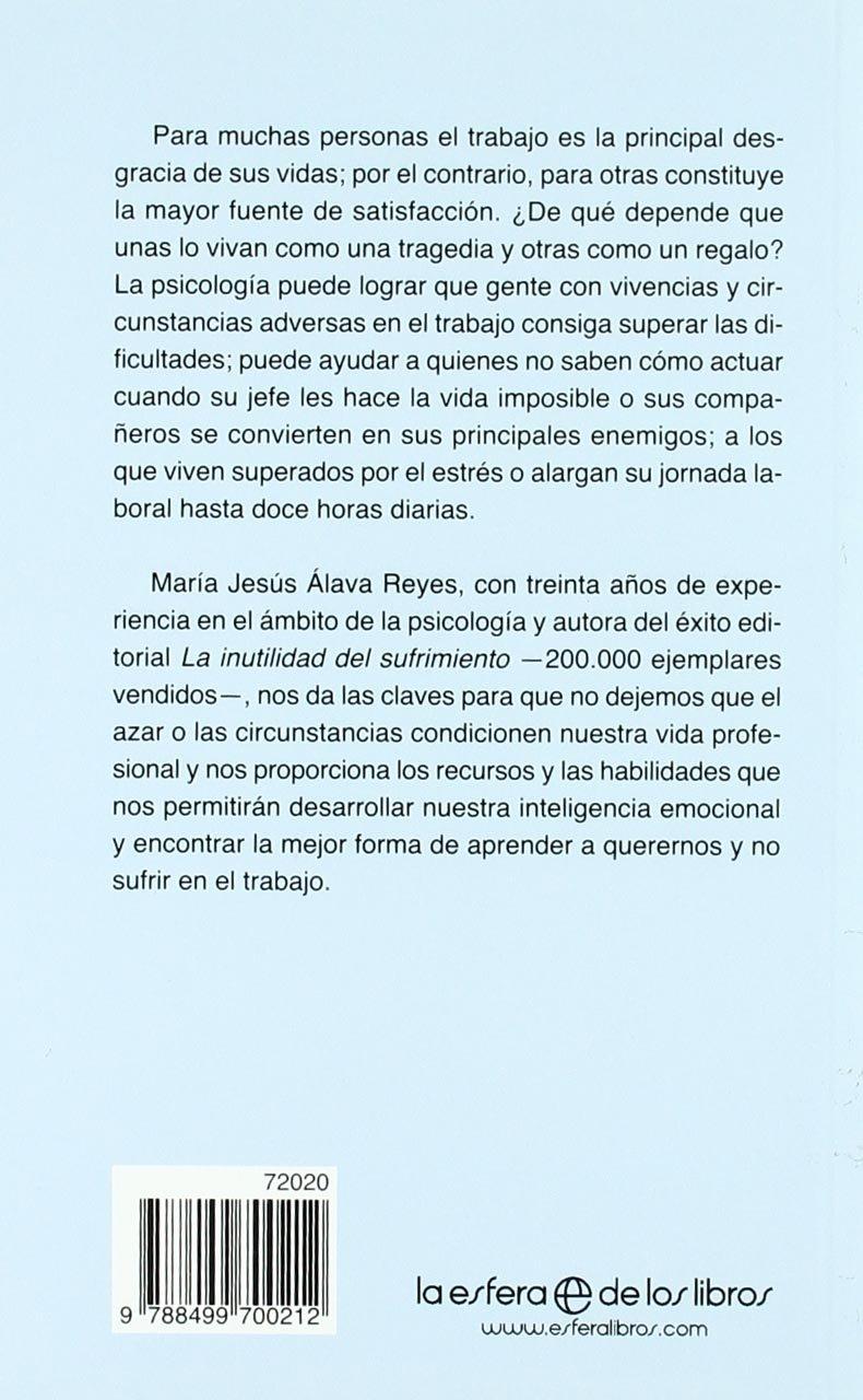 Trabajar sin sufrir (Bolsillo (la Esfera)): Amazon.es: Maria Jesus Alava:  Libros