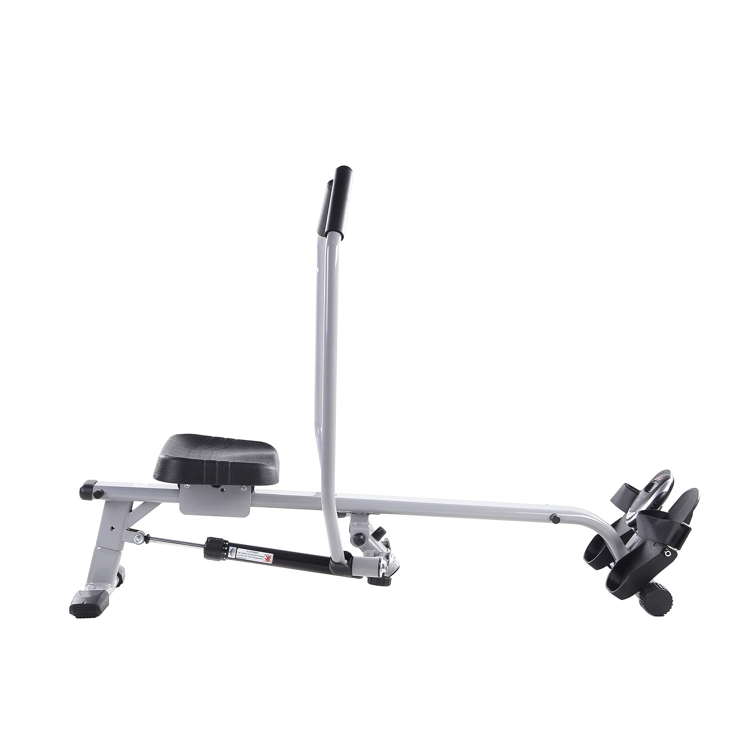 Sunny Health & Fitness SF-RW5639 Full Motion Rowing Machine Rower w/ 350 lb Weight Capacity and LCD Monitor by Sunny Health & Fitness (Image #5)