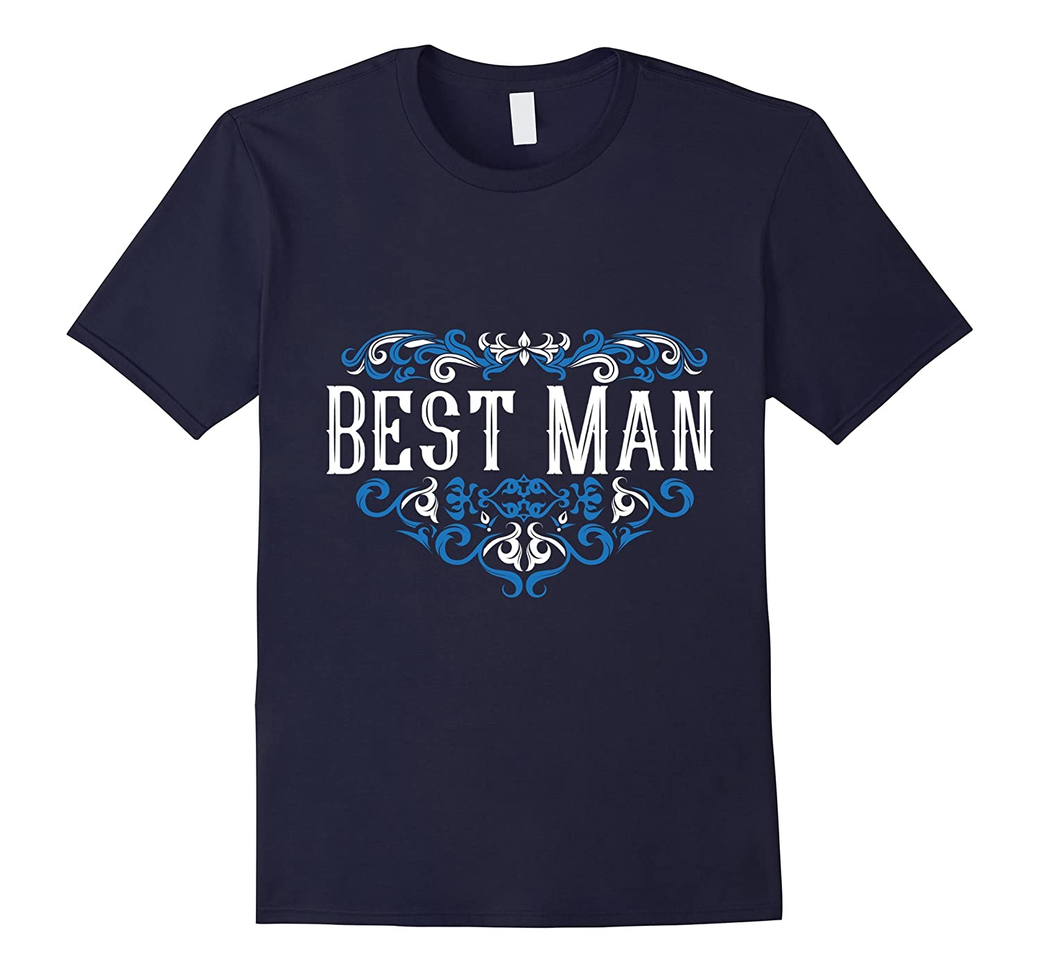 Best Man Shirt Bachelor Party Groom Bride Tattoo Wedding-TD