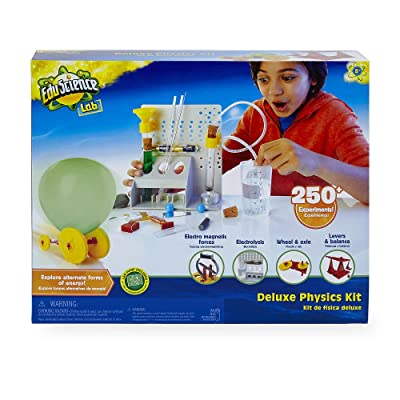 Edu Science Wacky Lab Deluxe Scientist Kit - Physics: Toys & Games