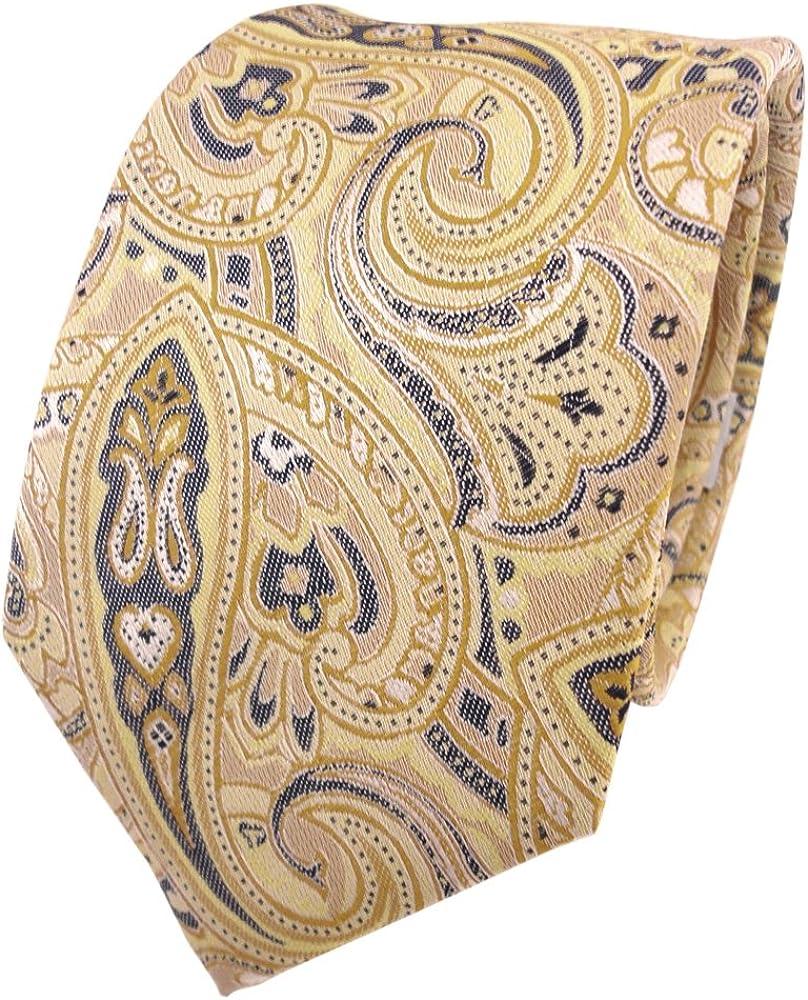TigerTie - Corbata - amarillo oro beige amarillo-arena antracita ...