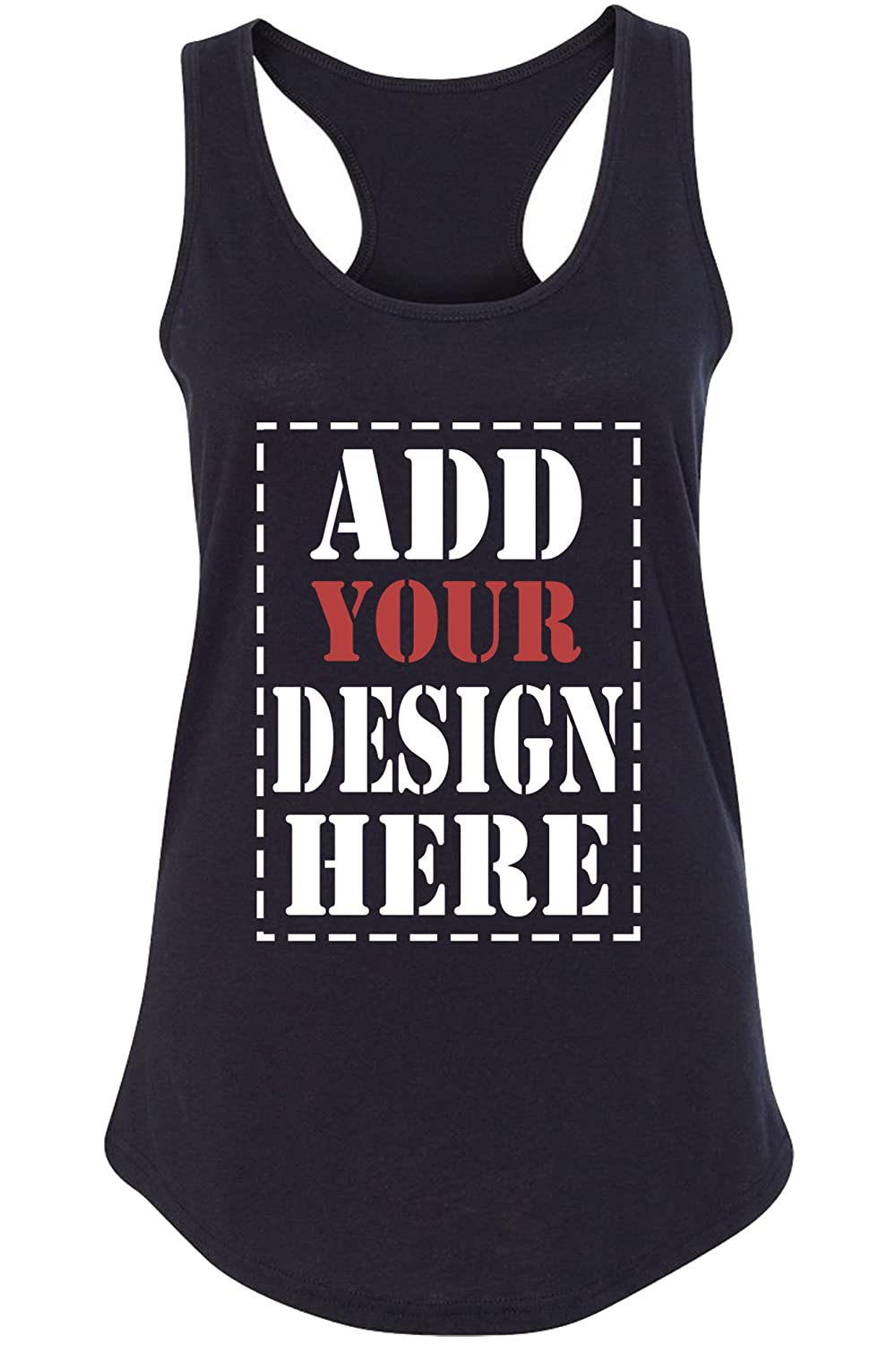 ffd81a32644e15 MAKE YOUR OWN tank top by adding your own text or image