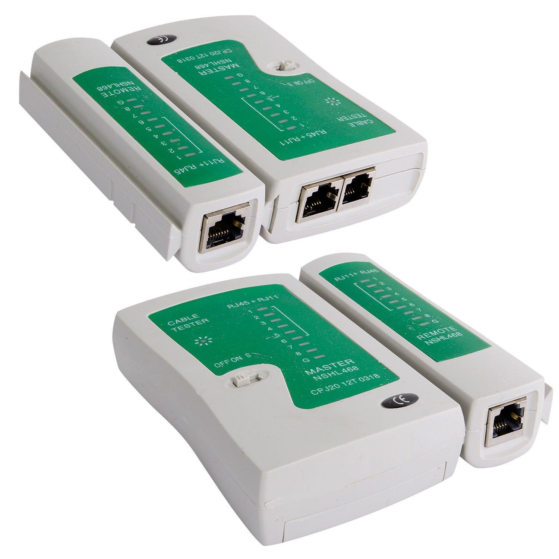 SGILE 12 in 1 Network Repair Kits Professional Network Tools Kits Computer Maintenacnce Lan Cable Tester Computer & Mobile Device Repair Kits by SGILE (Image #3)