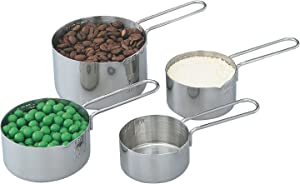 Vollrath 4-Piece Stainless Steel Measuring Cup Set