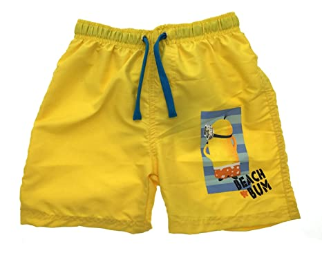 329265a11e4fb Despicable Me Minions Boys Swim Shorts With Magic Print Swimming Trunks  Size UK 3-8