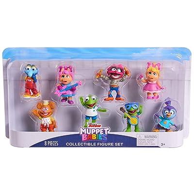 Disney Junior Muppet Babies 8 Set Mini Figure: Toys & Games