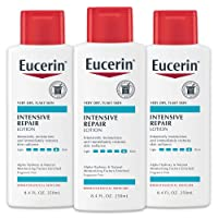 Eucerin Intensive Repair Lotion - Rich Lotion for Very Dry, Flaky Skin - 8.4 fl. oz. Bottle (Pack of 3)