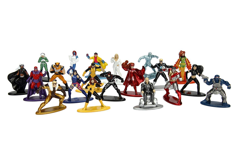 Ice Man 20 Nano figs Die-Cast 3 Items Cyclops Phoenix Funko X-Heads Logan /& Beast PEZ Character Team Bundled with X-Men Figure Collection Marvel Super Heroes Wolverine Storm