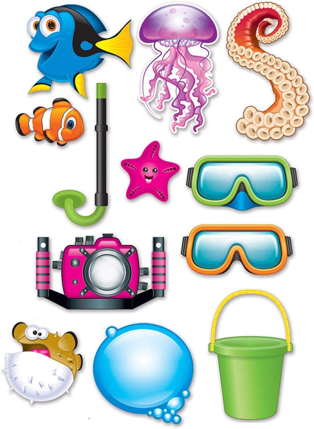 Amazon Com Beistle Under The Sea Photo Fun Signs Toys Games