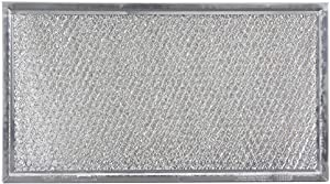 Whirlpool 8206229A Microwave Grease Filter, Silver