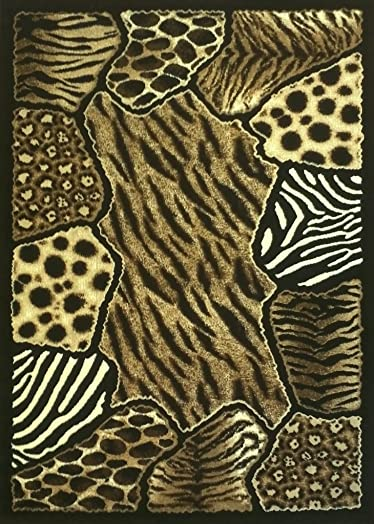 Skinz Animal Prints Area Rug 8 Feet X 10 Feet Design 74