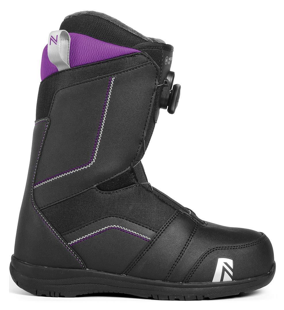 18-19 2019 ナイデッカー マヤボア スノーボード ブーツ NIDECKER MAYA BOA 黒 レディース 女性用 スノボ 靴_23.5cm/6.5