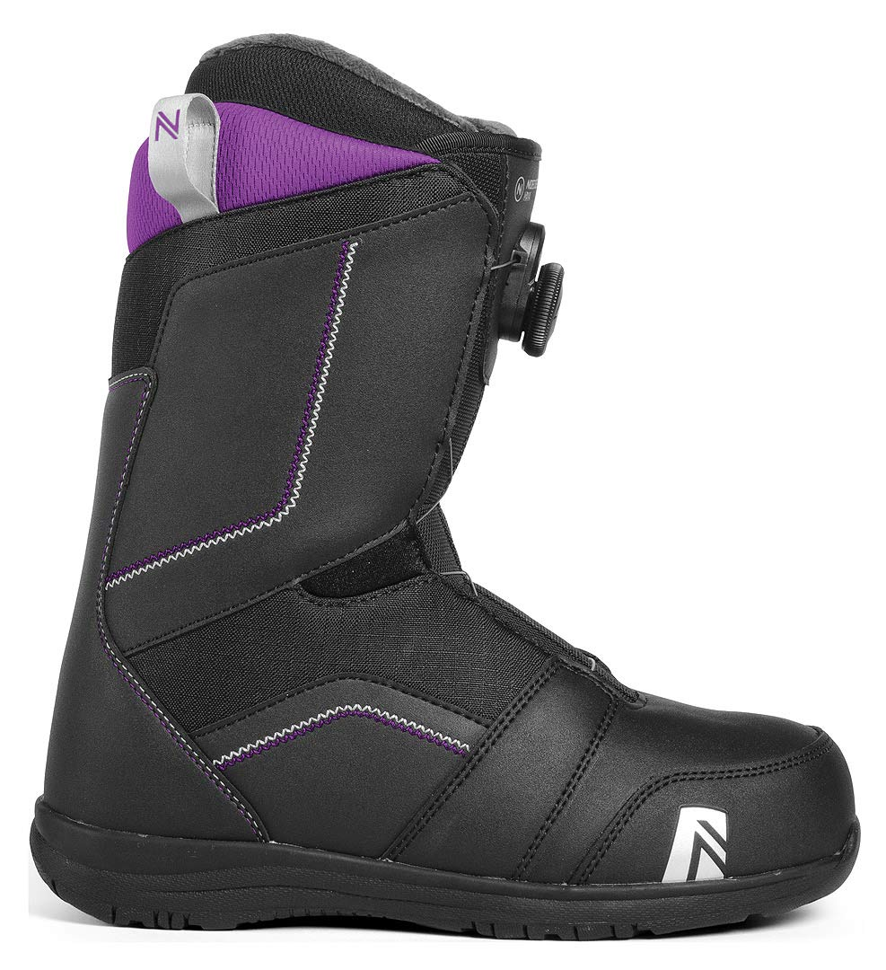 Nidecker Maya Boa Women's Snowboard Boot Size 7.0 (Black) by Nidecker