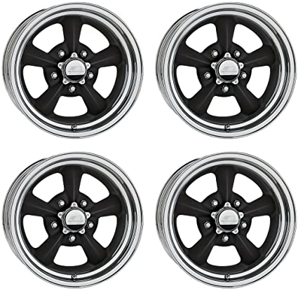 Amazon Com Billet Specialties Rival Black Aluminum Wheel Set