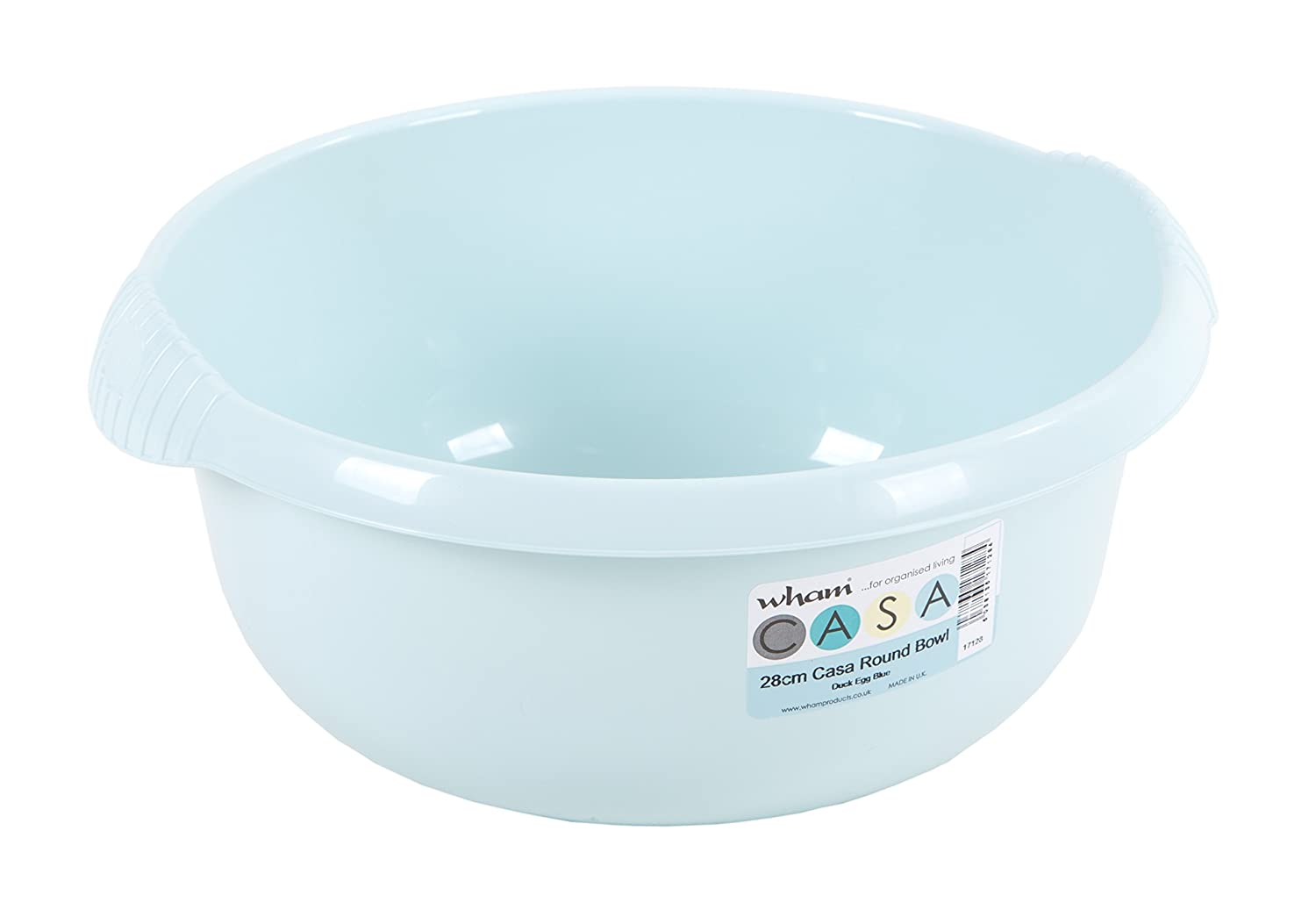 32cm Plastic Square Washing Up Kitchen Tidy Basin Mixing Bowl Sink Bowls Cream//Calico