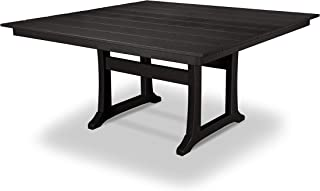 product image for Trex Outdoor Furniture Tables Dining Table, Charcoal Black