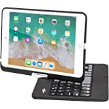 BATTOP iPad Mini Keyboard - Swivel 360 Degree Rotatable Bluetooth Keyboard Case - iPad Mini Bluetooth Keyboard - Compatible i