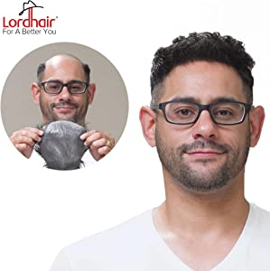 Sweepstakes: Lordhair Toupee With Human Hair Wigs For Men Hairstyle…