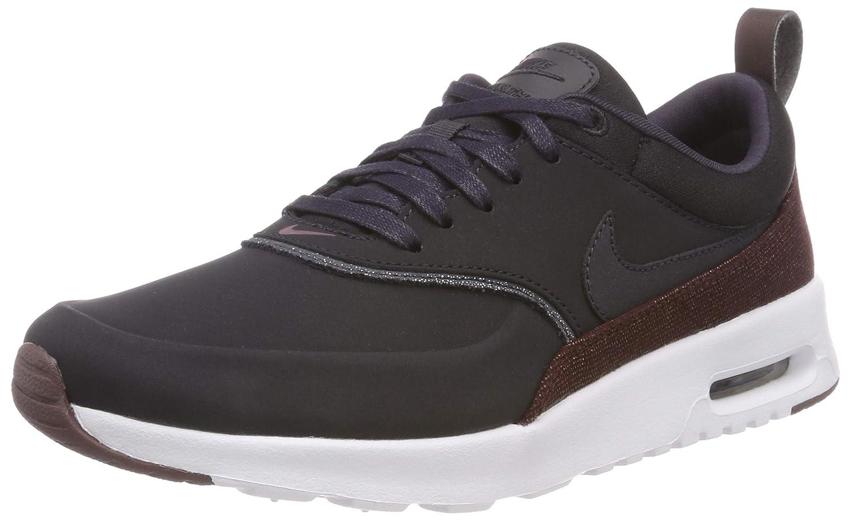 MultiCouleure (Oil gris Oil gris Mtlc Mahogany 025) Nike WMNS Air Max Teha PRM, Chaussures de Fitness Femme 36.5 EU