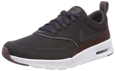 online retailer b6d97 3a108 Nike Women s Air Max Thea Premium Low-Top Sneakers, Oil Grey-Metallic  Mahogany