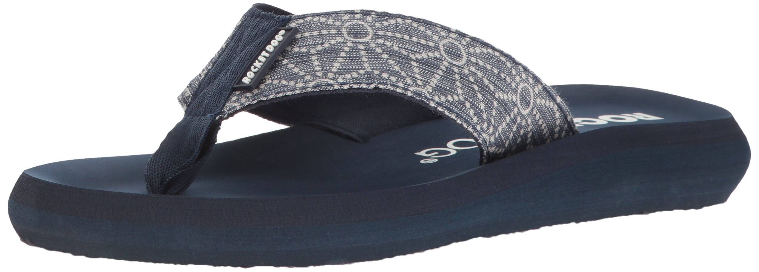 Rocket Dog Women's Spotlight 2 Tizer Cotton Flip Flop, Indigo, 7 M US