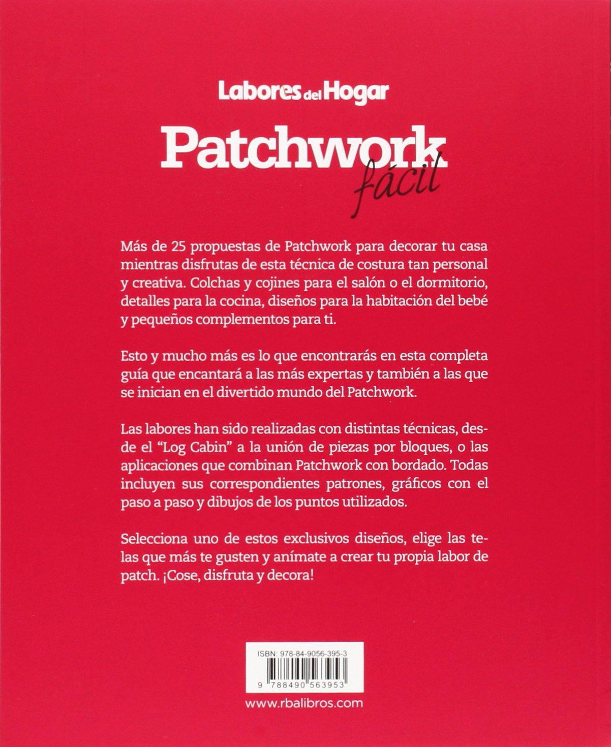 PATCHWORK FACIL LABO-HOGA R.B.A.: 9788490563953: Amazon.com ...