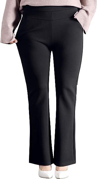 Amazon.com: ABCWOO - Pantalones de trabajo para mujer, talla ...