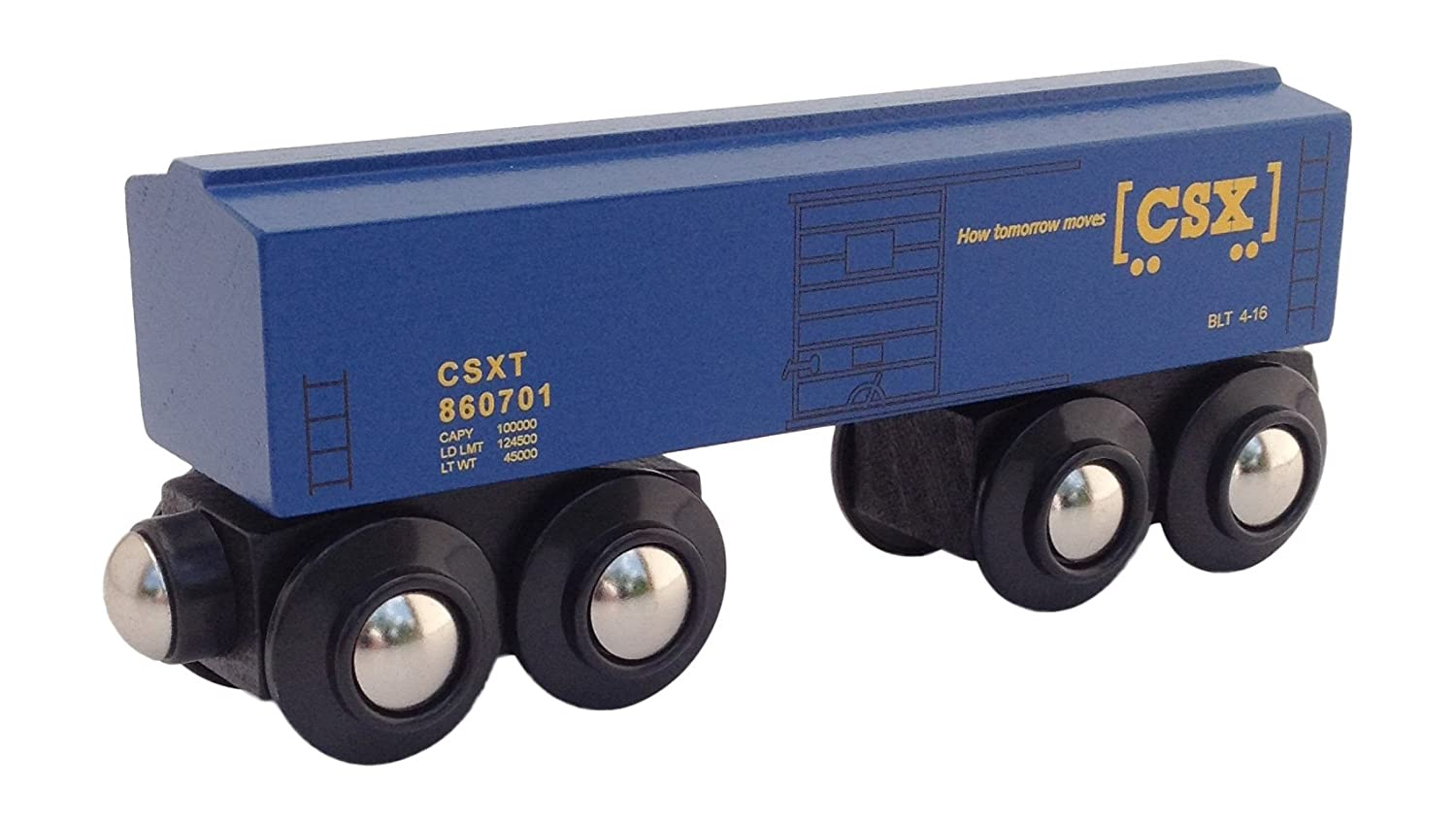 Csx Boxcar Magnetic Wooden Train