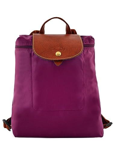 Amazon.com  Longchamp Le Pliage Backpack Bag Purple New  Shoes c996865217974