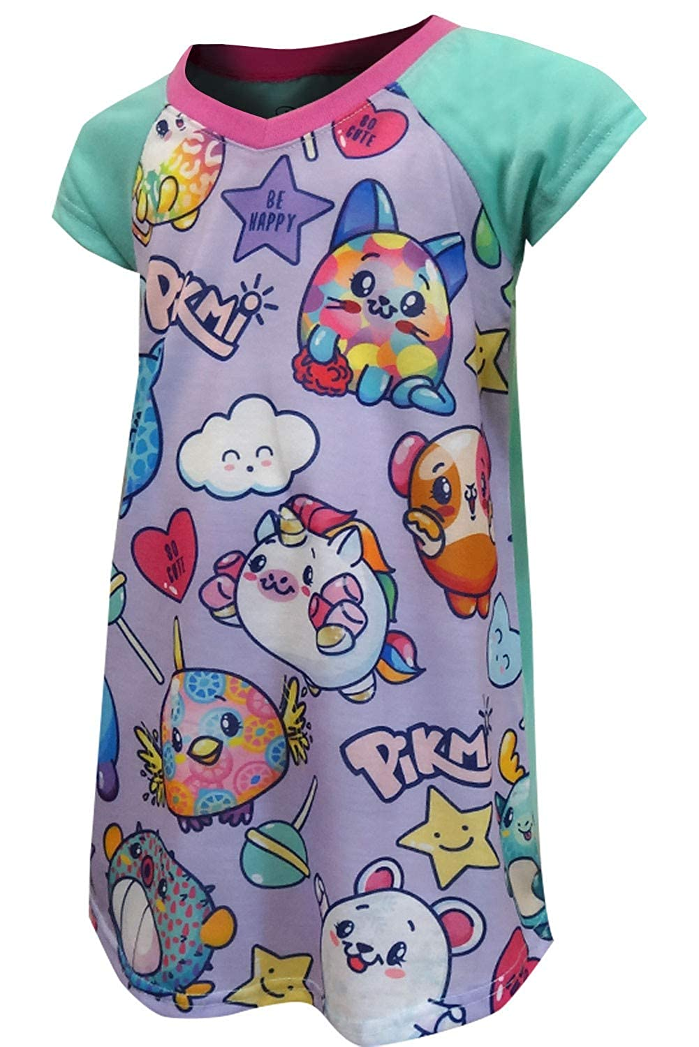 AME Sleepwear Girls Pikmi Pops Surprise Nightgown Lavender