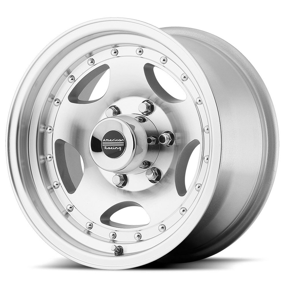 American Racing Series AR23 Machined Wheel with Clear Coat (16x8''/5x5.5'')
