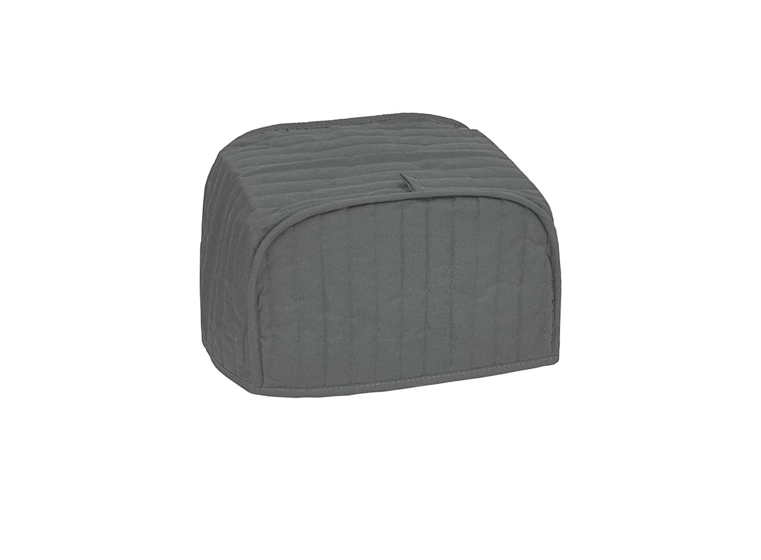 RITZ Polyester / Cotton Quilted Two Slice Toaster Appliance Cover, Dust and Fingerprint Protection, Machine Washable, Graphite
