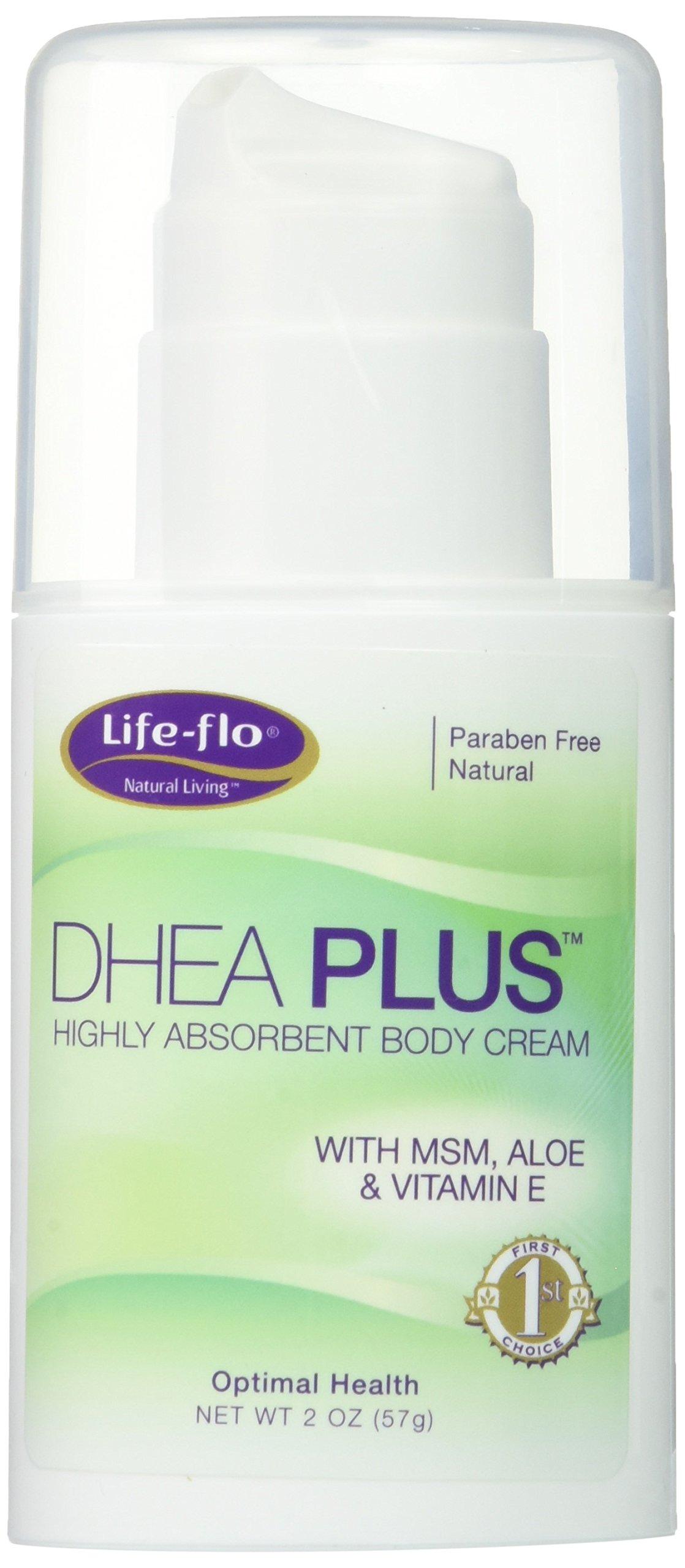 Life-Flo DHEA Plus Cream Bottles, 4 Ounce