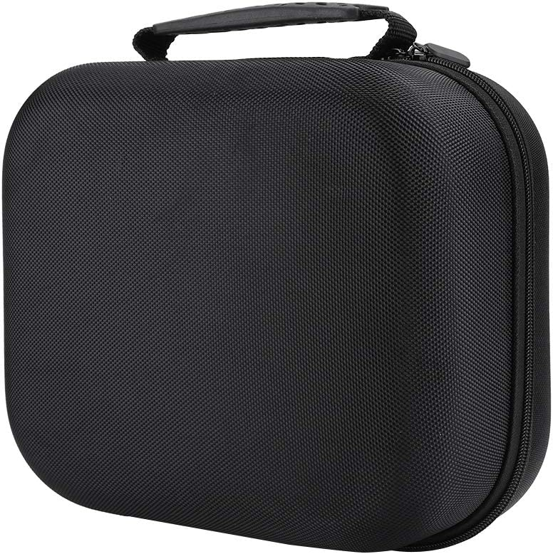 Headphone Storage case for HIFIman//Dyson Cleaner Suction Nozzle Black Portable Carrying Case Shockproof Bag Box