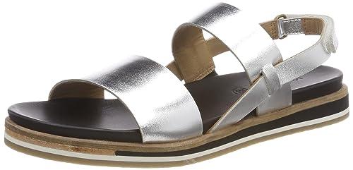 Womens Olivera Ankle Strap Sandals, Black Kickers