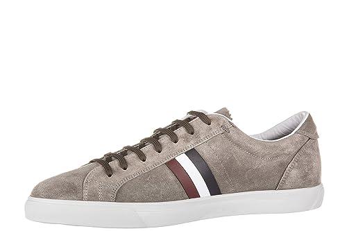 Herrenschuhe Herren Schuhe Sneakers MONCLER Wildleder Grau