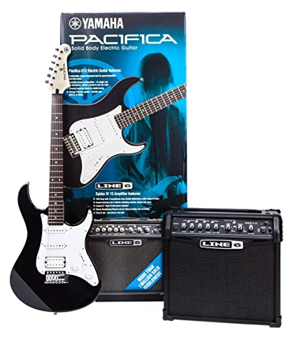 Yamaha pa012bl Spider Pack guitarra eléctrica Set