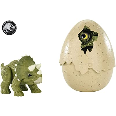 Jurassic World Hatch 'n Play Dinos Triceratops: Toys & Games
