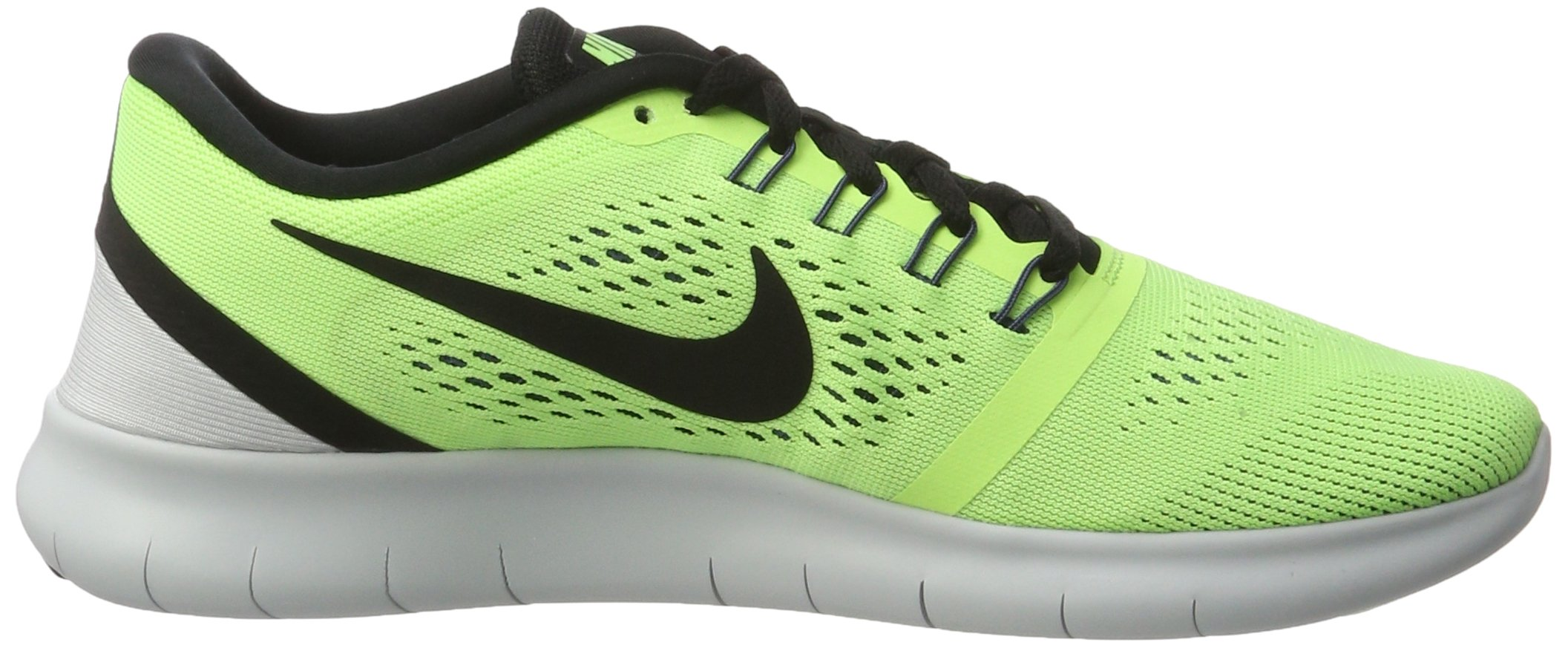 Nike Free RN Ghost Green/Black/Blue Moon Mens Running Shoes by Nike (Image #6)