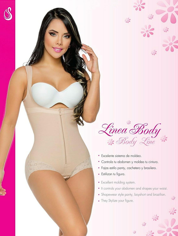Salome 0411, Fajas Colombianas Reductoras Para posparto que retonifica y Levanta Los glúteos y la Figura, Mujeres at Amazon Womens Clothing store: