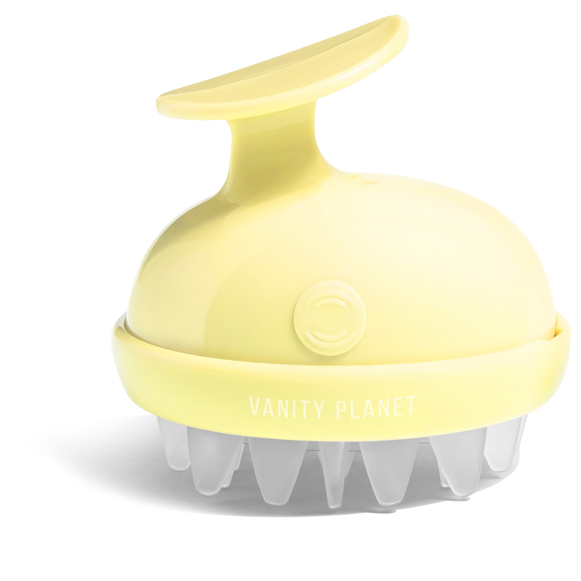 Vanity Planet Groove Rejuvenating Scalp Massager, 2-Speed Vibrating, Hello Yellow by Vanity Planet (Image #3)
