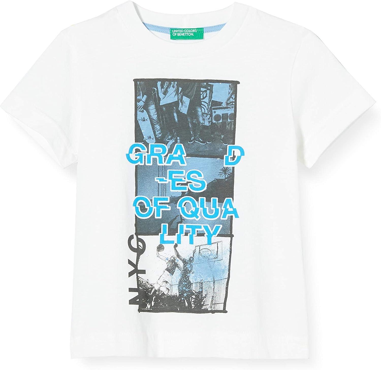 UNITED COLORS OF BENETTON T Shirt Pull sans Manche B/éb/é gar/çon