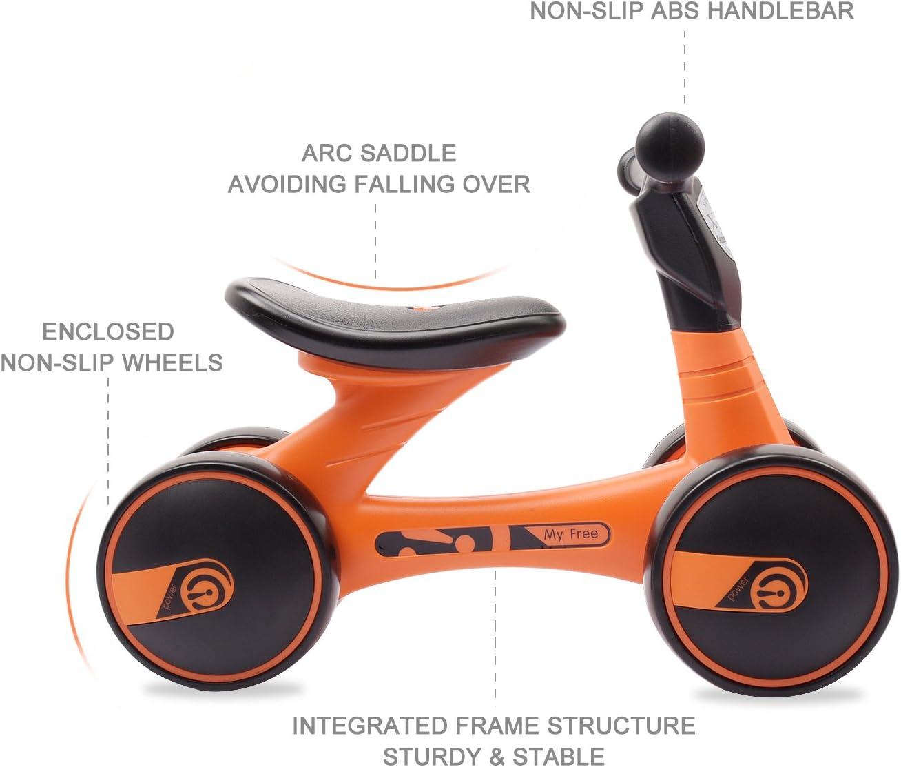 Amazon.com: XJD - Bicicletas de equilibrio para bebés de 10 ...