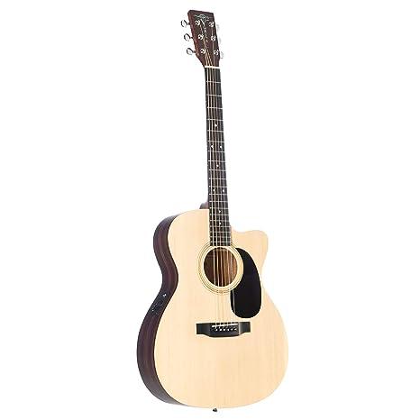 Sigma 000TCE+ Electro Acoustic Guitar - Natural: Amazon.es ...