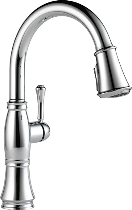 Attrayant Delta Cassidy Single Handle Kitchen Pull Down Faucet With Magnetic Docking  Spray Head,
