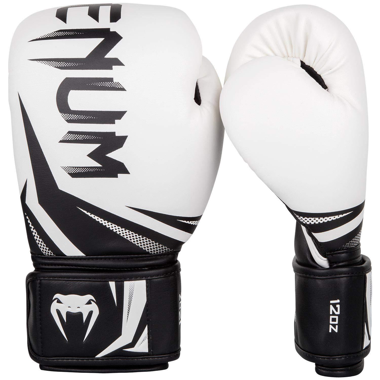 Venum Guantoni Da Boxe Challenger 3.0 Bianco Nero Oro Muay Thai Kickboxing sparrin