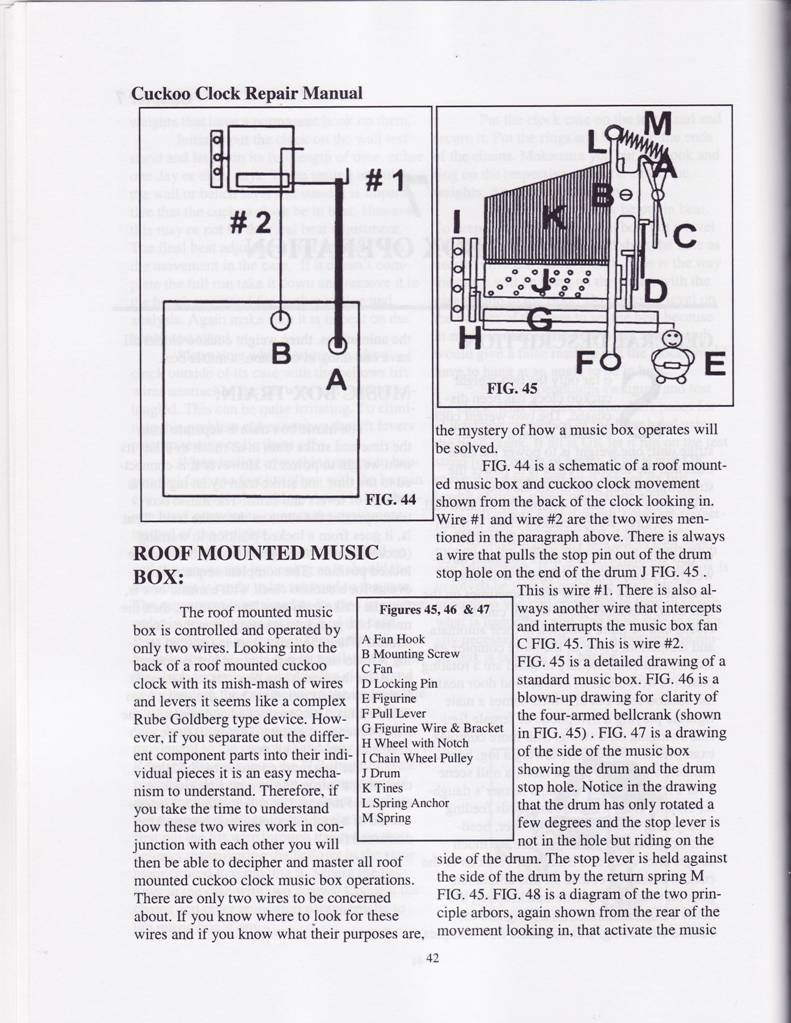 cuckoo clock repair manual