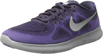 Nike Free Run 2017, Zapatillas de Entrenamiento para Mujer, Morado (Dk Raisin/Pure Platinum-Purple Earth-hypr), 36.5 EU: Amazon.es: Zapatos y complementos